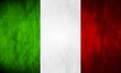 Italian grunge flag