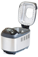 Breadmaker machine isolated on a white background