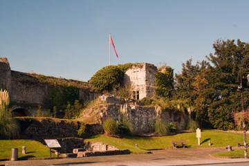 Les ruines du chateau ducal