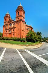 Basilica of St. Lawrence, Asheville, North Carolina, USA.