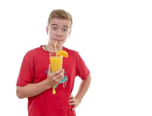 Leckerer Orangensaft
