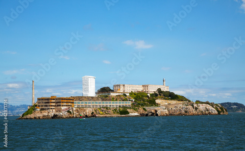 Alkatraz island in San Francisco bay, California