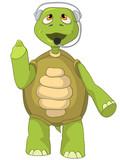 Funny Turtle. Comunication.