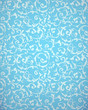 Blue seamless pattern