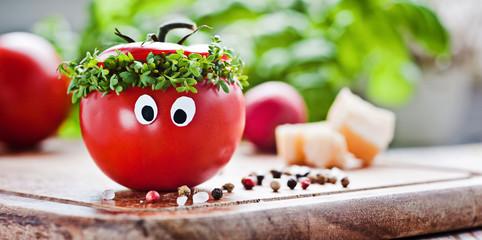 tomaten-kresse mann II