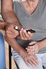 Doctor Showing the Result