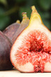 Fresh fig closeup