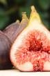 Fresh fig closeup