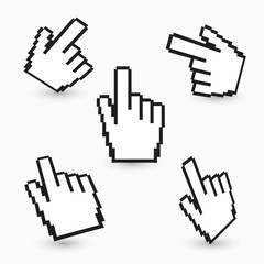 Hand cursors collection