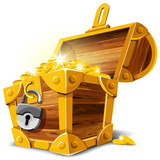 Fototapety Treasure Chest