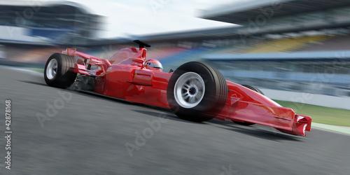 Foto op Plexiglas Motorsport f1 racer rennstrecke