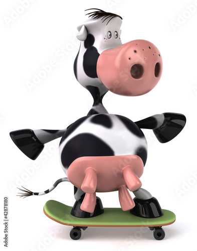 Fun cow