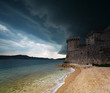 fortress in Korcula, Croatia