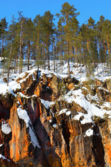 rocks in Oulanka