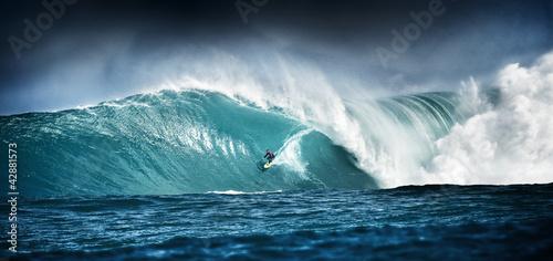 Leinwanddruck Bild Surfing