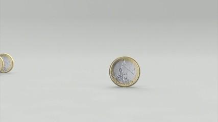 Euro Münzen animiert
