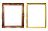 Photo frames isolated.