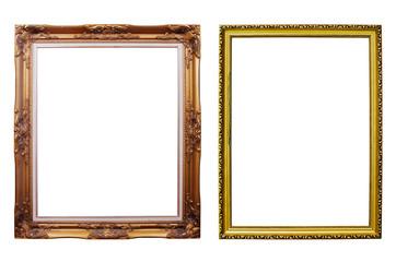 Photo frames isolated.