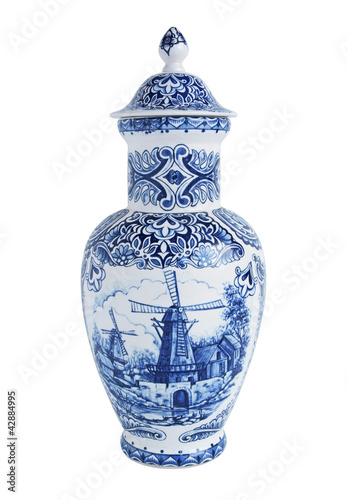 Old Dutch vase