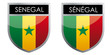 Senegal flag emblem