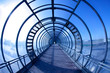 blue tunnel - 42887519