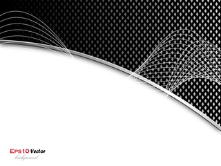 Black and silver business background