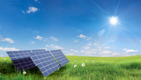 Fototapety solar panel