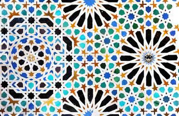 Alicatados, mosaicos, azulejos, Alhambra de Granada