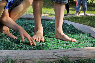Barfuß-Park, Sinnespark, barefoot trail