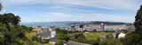 Botanic Garden Panorama in Wellington, New zealand