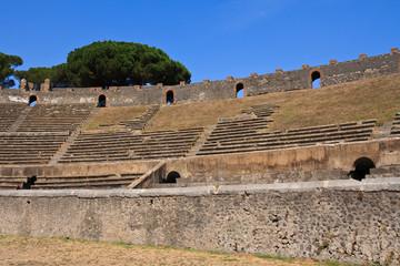 Pompeii Colosseum Steps