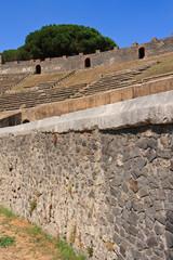 Pompeii Colosseum Wall