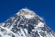 Mt Everest (8850m) in the Himalayas, Nepal.