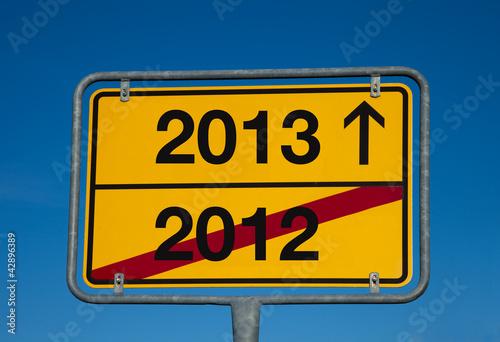 Wechselschild 2012- 2013
