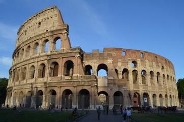 Vista general del Coliseo. Roma