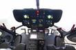 Modernes Hubschraubercockpit