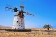 windmill in El Cotillo, Fuerteventura, Canary Islands, Spain