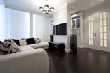 Fototapety Interior of designer living room