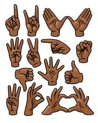 Hand Gesture Set