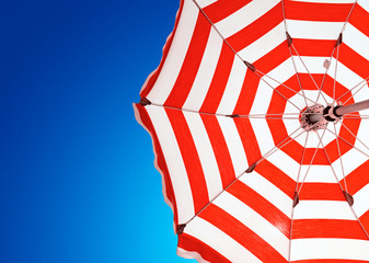 Red stripe umbrella