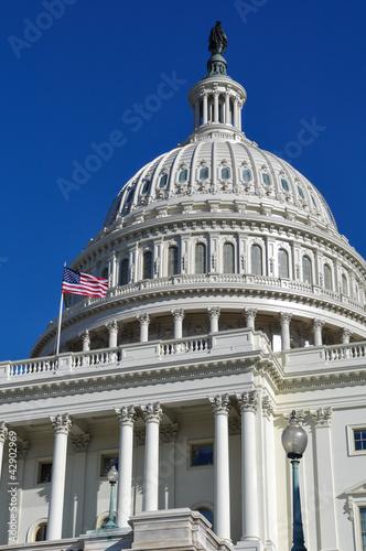 Washington DC Capitol Hill Building