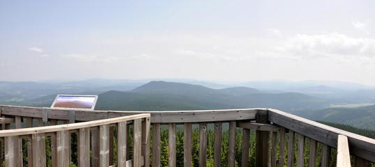 View from Boubin