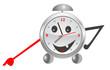Funny alarm clock.