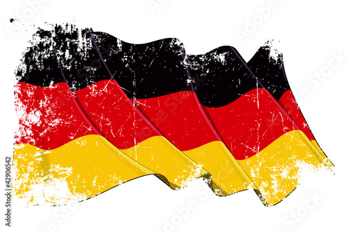 Grange National Flag of Germany