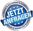 """Button Banner """"Jetzt anfragen"""" blau/silber"""
