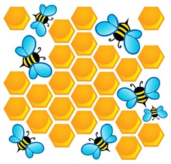 Bee theme image 1