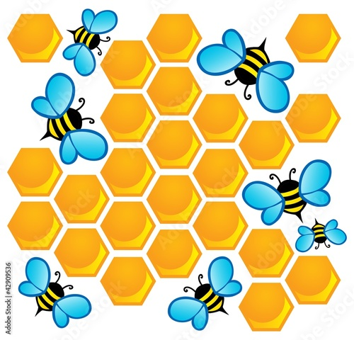 Bee theme image 1