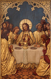 BRUSSELS - Last super of Christ -Saint Antoine