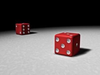 dramatic dice