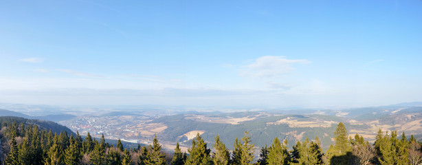 Prachatice - Libin lookout view